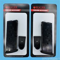 2 X Ruger Lc9 Lc9s 7 Round Magazine Made In Italy Factory Clip Mag 90363