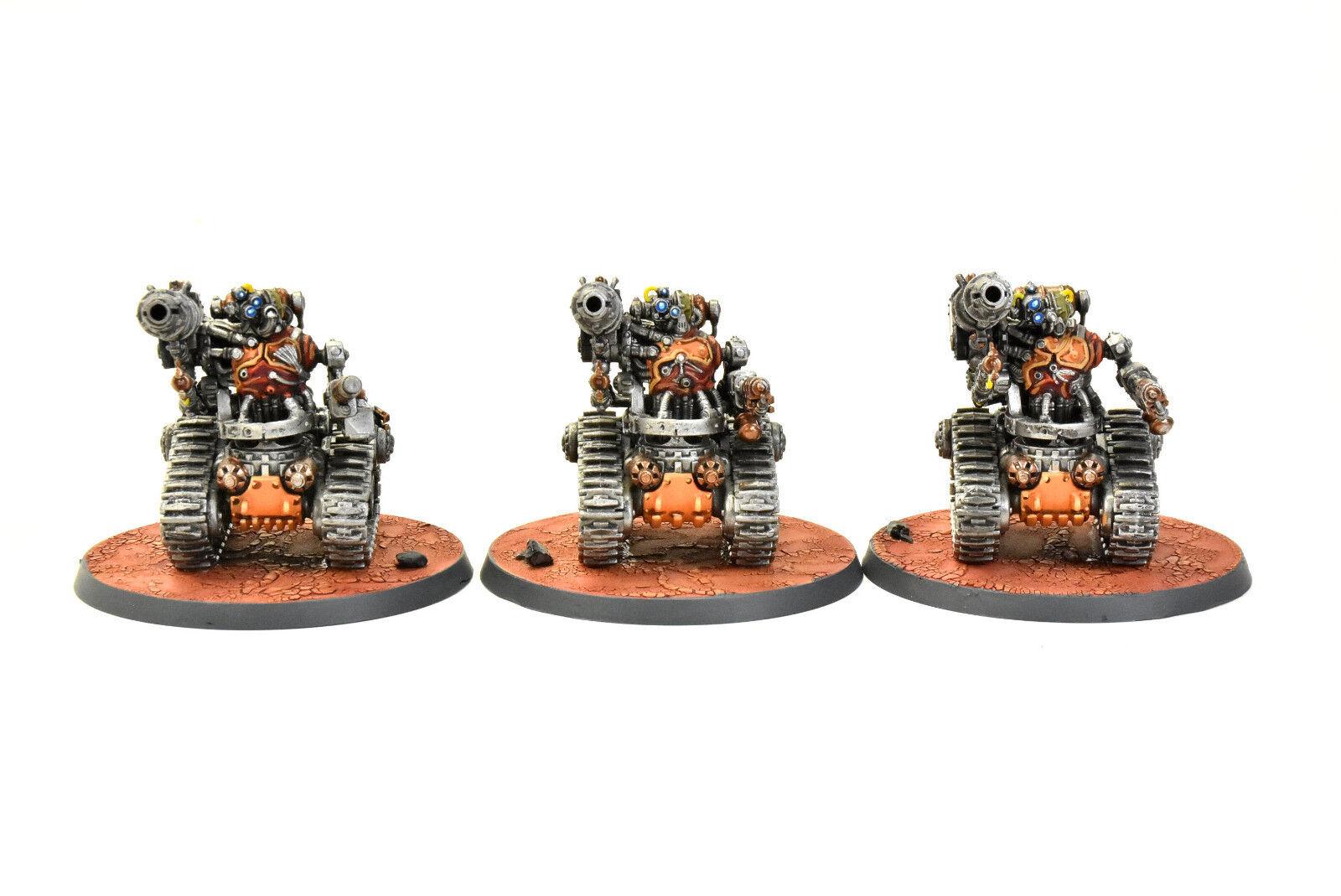 Adeptus Mechanicus 3 kataphron breachers Pro pintado warhammer 40K