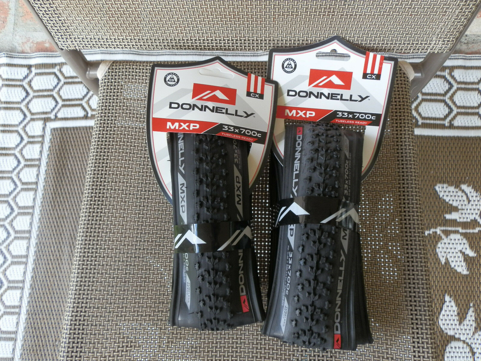 TWO  (  2  )  Donnelly Clement MXP Tubeless Ready Cyclocross Tires 700 X 33