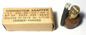 FT-237-connector-adaptator-UG-361V-de-prise-U-vers-borne-haute-impedance-W128