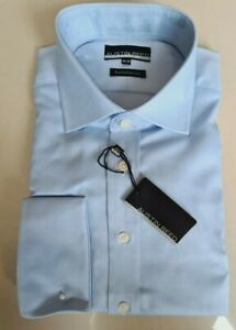 Austin Reed Mens Sky Blue Oxford Cotton Shirt Bnwt Rp 50 Ebay