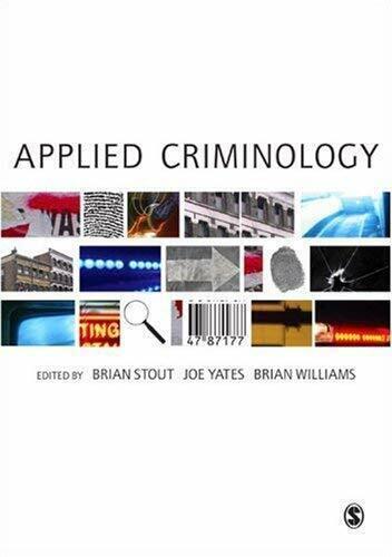 Anwendung Criminology von Stout, Brian