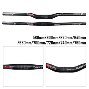 Race-Face-NEXT-3k-Matte-Carbon-Fiber-Handlebar-31-8mm-Riser-Flat-Bar-Fit-MTB-New