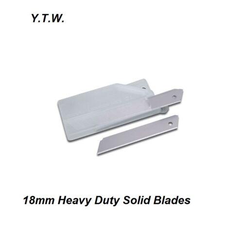 pare-brise Montage etc 200 x 18 mm Solid Long couteau//Olfa Lames