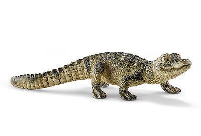 Schleich 14728 Baby Alligator Wild Reptile Animal Toy Figurine 2015 - NIP