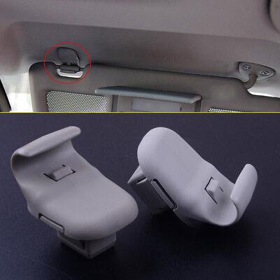 New Gray Sun Visor Mounting Clip LC6269261B77 For  Mazda 3 5 6 CX-7 CX-9 RX-8