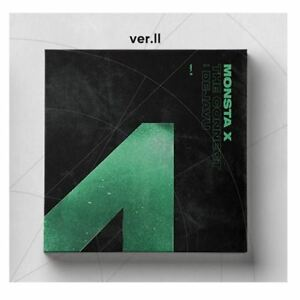 MONSTA-X-The-Connect-Dejavu-6th-Mini-Album-Ver-II-CD-Booklet-Card-Etc-KPOP