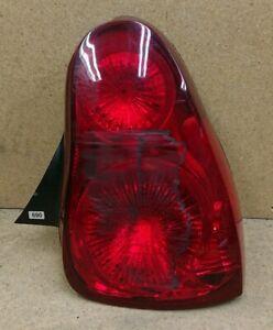 New Tail Light Rear Break Lamp Passenger Side Red Lens Black Housing Monte Carlo