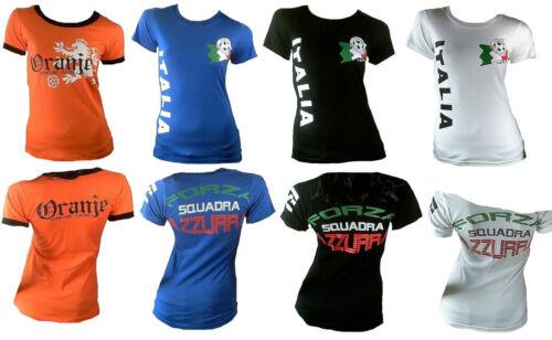 Ticila Miss Lady Fussball WM EM Fan Fanshirt T-Shirt Trikot 32//34//36//38//40//42//44