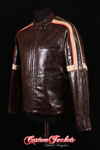 Men-039-s-WAR-OF-THE-WORLDS-Brown-Glazed-Real-Leather-Hollywood-Hero-Jacket