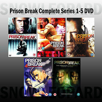 Prison Break Complete Series 1 5 Dvd Collection Season 1 2 3 4 5 Original Uk Rel 5039036080385 Ebay