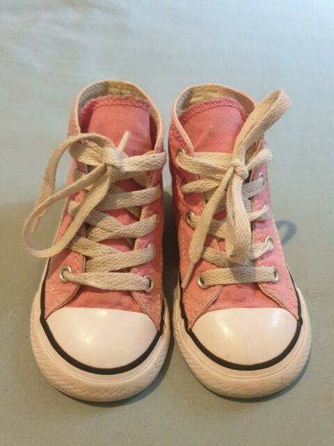 Pink Infant Converse Size 7 for sale
