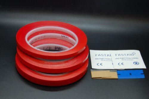 Plektrum Satz Schaber Abdeckband 3M 471 Vinyl Klebeband Tupfer