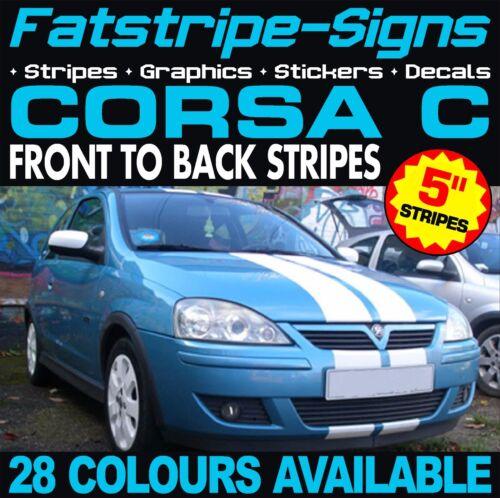 Vauxhall Corsa C rayures graphiques Autocollants DECALS OPEL VXR SXI GSi 1.2 1.4 1.8 D