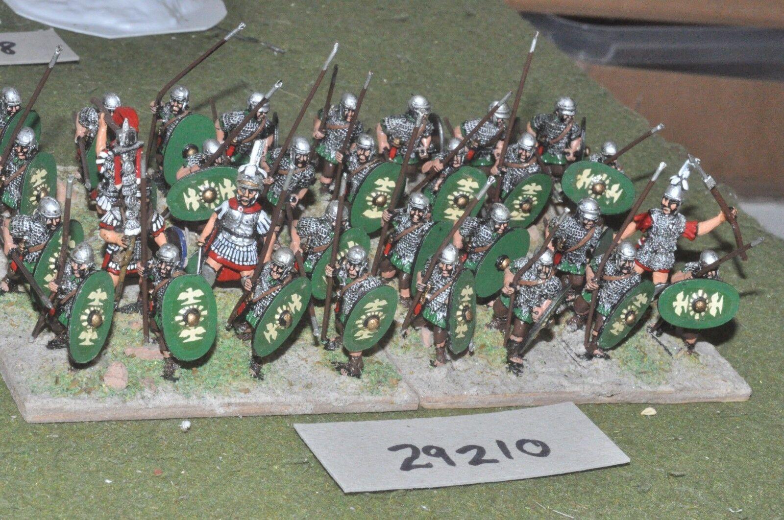 25mm roman era   roman - auxiliaries 32 figures - inf (29210)
