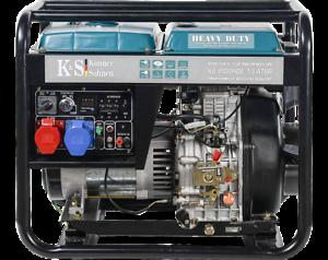 K/&S Diesel Generator 230V 400V 6,5KW Stromaggregat 8100HDE-1//3 ATS Stromerzeuger
