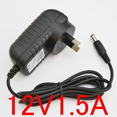 New AC 100V-240V Adapter DC 12V 1.5A 18W Switching power supply AU 5.5mm 1500mA