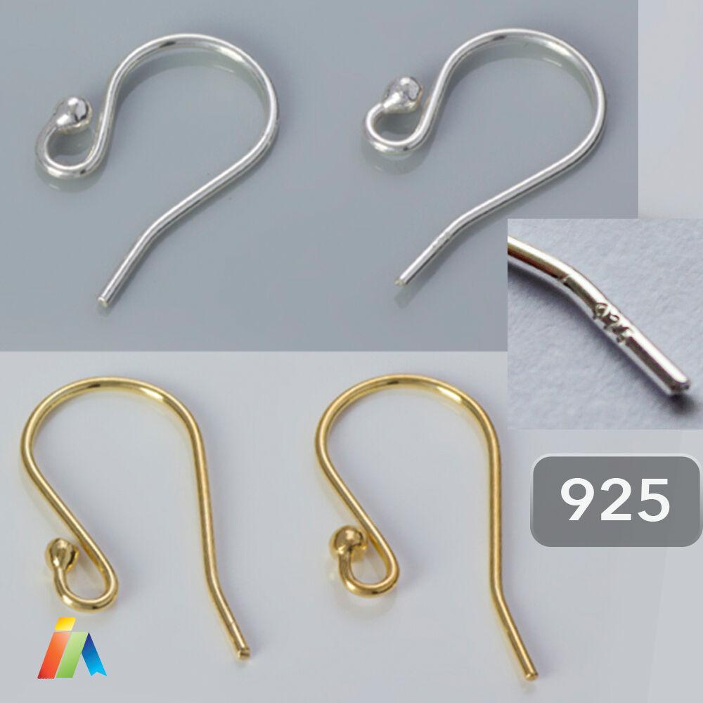 925 Sterling Silver Earring Hooks