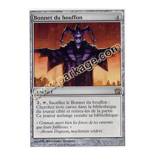 NM MTG Magic Français Bonnet du bouffon 9ème Edition n°301
