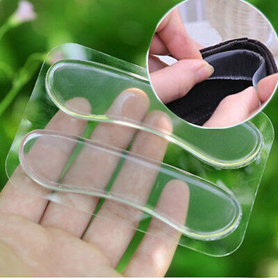 Women Foot Care Silicone Gel High Heel Cushion Shoe Insert Pad Insole Heel Liner