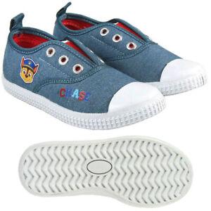 Details zu Paw Patrol Schuhe Sneaker Turnschuhe Canvas Grau Gr.: 22 29