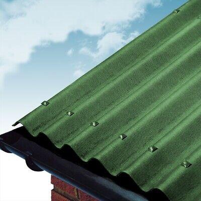 Green Coroline Roofing Sheet 2.6mm, 950 x 2000mm, Bitumen ...