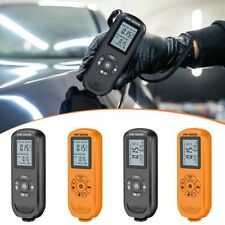 New Listingportable Car Paint Coating Tester Lcd Thickness Gauge Probe Meter Crash Checker