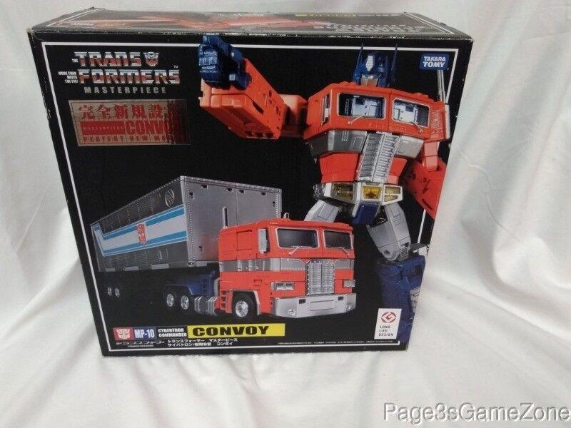 Transformers Masterpiece Optimus Prime Cybertron Commander Convoy MP-10