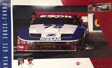 Nissan IMSA GTS 300ZX -Turbo-Steve Millenn-Jeremy Dale Factory Nissan Car Poster