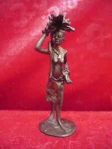 schone-alte-Bronze-Bronzefigur-Afrika