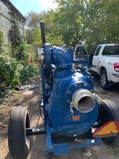 Gorman Rupp 6 Trash Water Pump Powered By A 4 Cylinder Duetz Diesel Engine