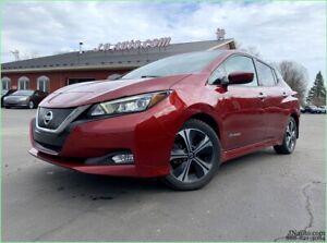2018 Nissan Leaf SV 40 KWH,6.6 kw, GPS, Recharge 110v/220v et chademo 400v