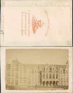 Liege Facade Du Palais De Justice Vintage CDV