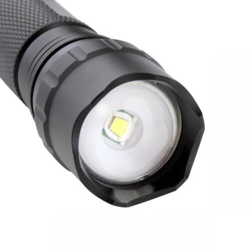 2000LM 502B Mini LED Infrared IR 850nm Night Vision Zoom Flashlight Waterpproof