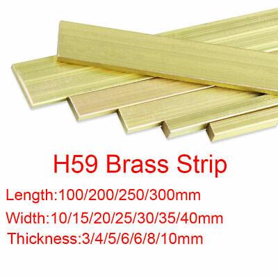 1pcs H59 Brass Metal Bar Stip Thickness 3mm x 15mm x 250mm