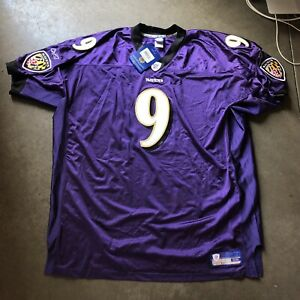 brand new 0c4ee c82ab Details about NWT Men's Reebok Authentic on Field Baltimore Ravens Steve  McNair Jersey Sz 58