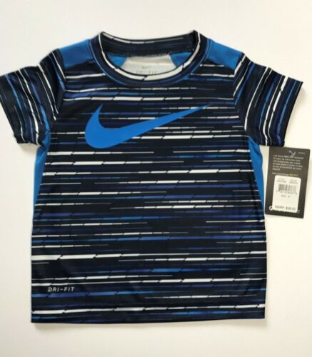 NWT Nike Toddler Boys Dri-Fit S//S Tee Shirt You Pick Style /& Size!! 2T 3T 4T