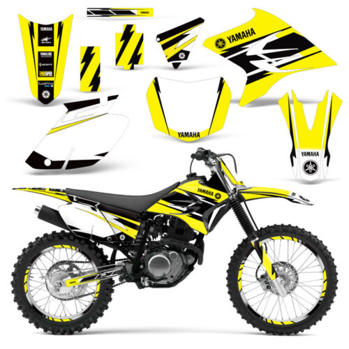 Yamaha TTR230 Grafik Set Wrap Ttr 230 Dirt Bike Sticker Aufkleber 2005-2016 Hurr  JZ2mA