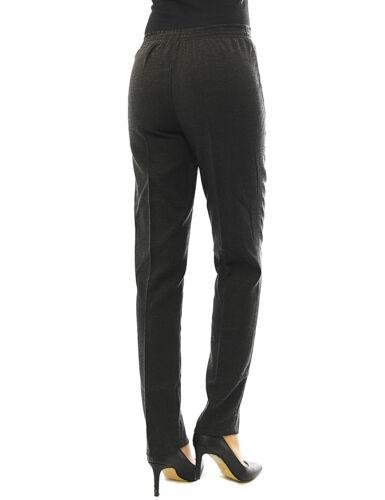 Schiusa Pantaloni Caldo in Pile Cotone dehnbund Business Termo Pantaloni