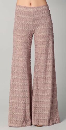 Women's Free People Sz 2 Taupe Extreme Knit Flare