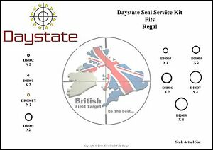 Full-Premium-Seal-Service-kit-Fits-Daystate-Regal-24-Seals-177-amp-22-New