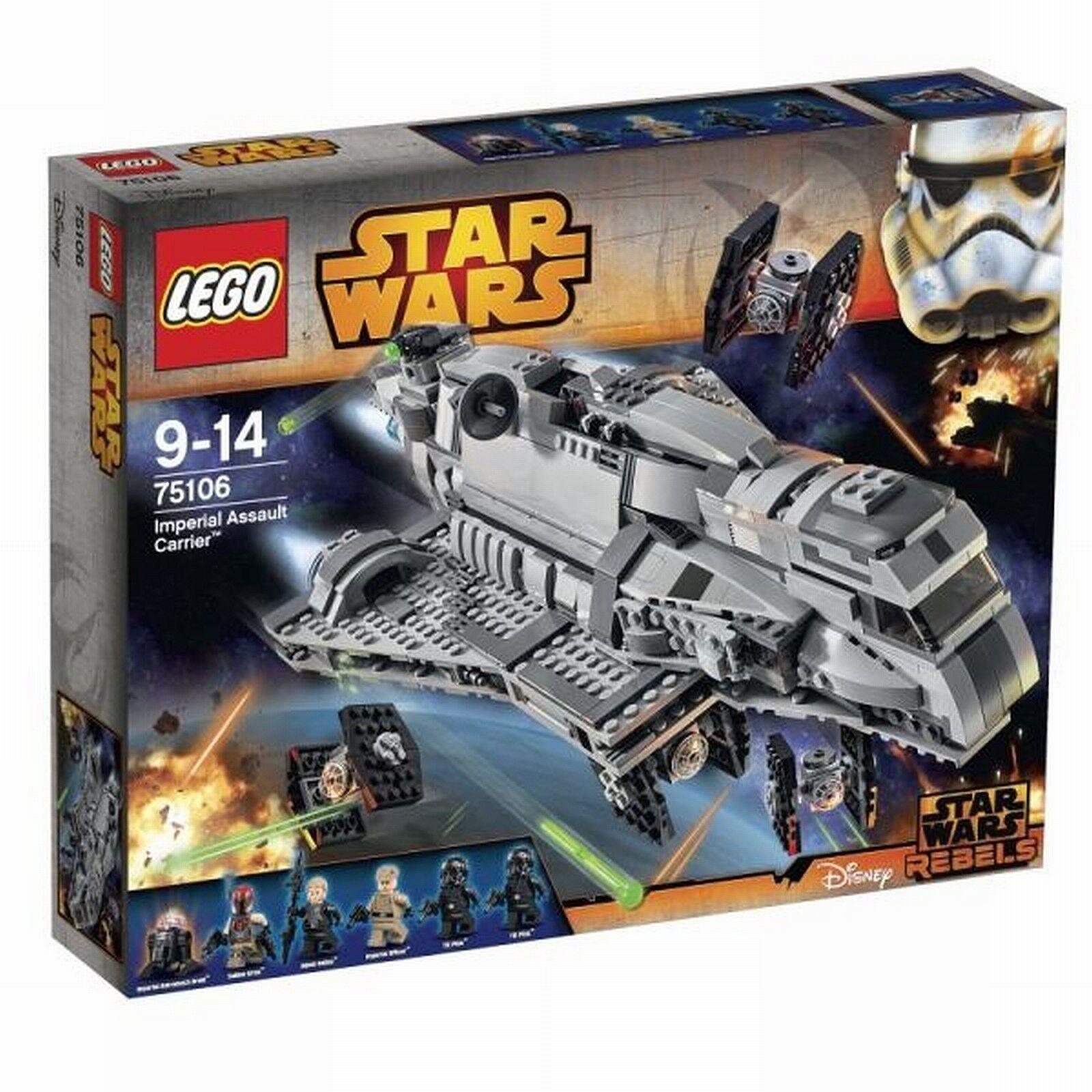 Lego Star Wars 75106 Imperial Assault Carrier  Spielzeug   brandtoys
