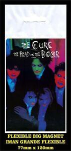 The-Cure-The-Head-on-the-Door-FLEXIBLE-BIG-MAGNET-IMAN-GRANDE