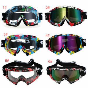 Scooter Anti-UV Goggles Motocross MTB Dirt Bike Helmet Eyewears Riding Racing US