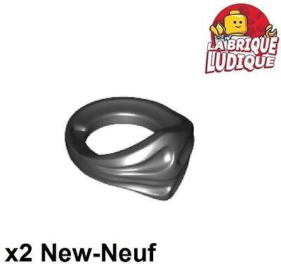 Lego 2x Minifig foulard Bandana Ninja Face Scarf noir//black 24504 NEUF