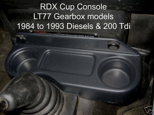 RDX Tasse Konsole 90//110 LT77 2.5 Benzin //Diesel//Turbo Neu