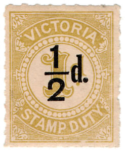 I-B-Australia-Victoria-Revenue-Stamp-Duty-d-on-1d-roulette