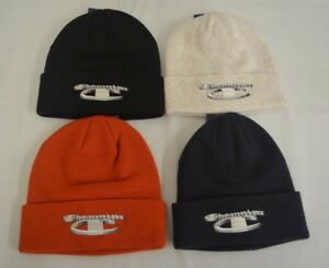 60d9eaa6 SUPREME x Champion Beanie Ash Grey Black Brick Red Navy Black F/W 18 ...
