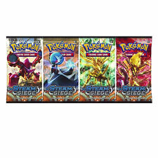 Pokemon: XY-11 Steam Siege 4 Sealed Booster Packs - New Trading Cards for 2016