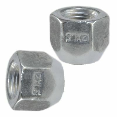 20 PIECE OPEN END LUG NUTS | 12x1.5 THREAD PITCH | FORGED STEEL ZINC PLATED